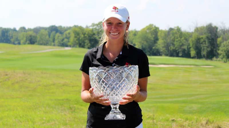 Lauren Hartlage Wins Kentucky Women's Open