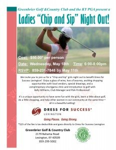 KY PGA Ladies Night Lex May 18 2016