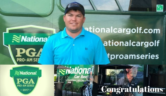 Triple Crown PGA Professional Wins NCR Pro-Am Series
