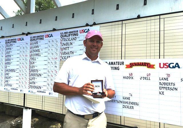Haddix Advances to U.S. Mid-Amateur Championship